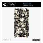 cráneos frescos iPhone 4 skins
