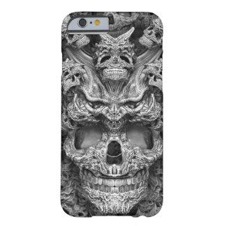 Cráneos Funda De iPhone 6 Barely There