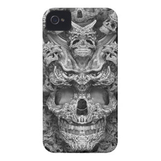 Cráneos iPhone 4 Case-Mate Funda