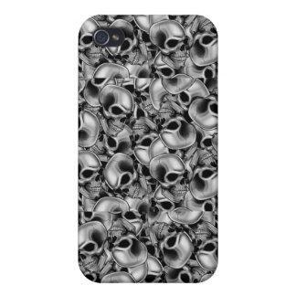 Cráneos iPhone 4 Cobertura