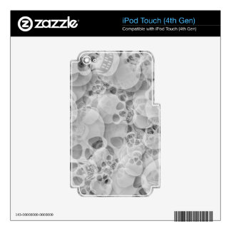 Cráneos iPod Touch 4G Skins