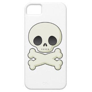 Cráneos lindos del gótico del kawaii del emo del c iPhone 5 coberturas