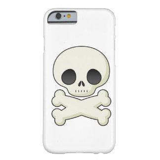 Cráneos lindos del gótico del kawaii del emo del funda de iPhone 6 slim
