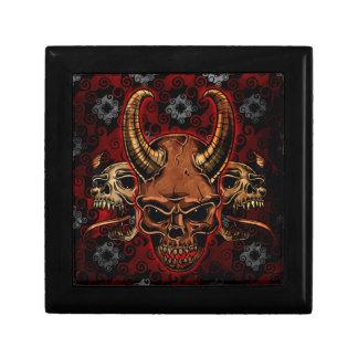 Cráneos malvados cajas de regalo