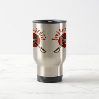 Cráneos meridionales taza de café