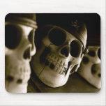 Cráneos Mousepad del pirata Alfombrillas De Ratón