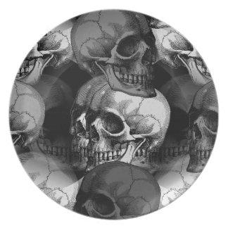 cráneos plato