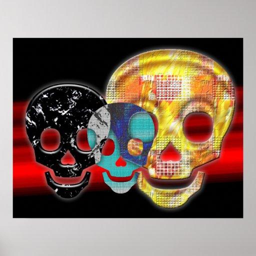 Cráneos Posters