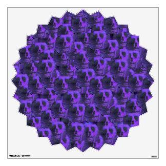 Cráneos púrpuras vinilo