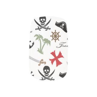 Cráneos retros del pirata