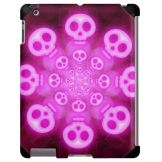 Cráneos rosados 3 del caramelo de algodón