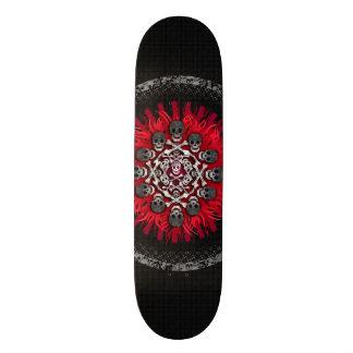 cráneos skate board