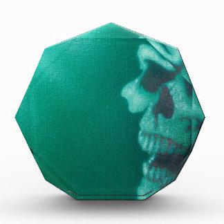 cráneos verdes