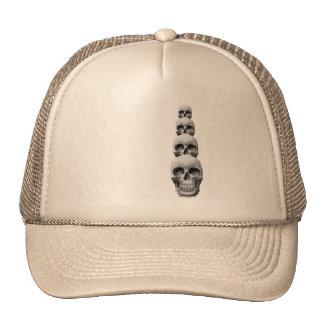 Cráneos - vertical gorras