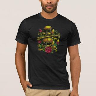 Cráneos, Web, y camiseta de los rosas