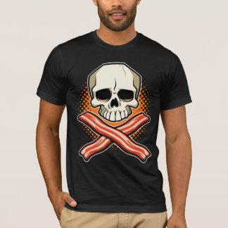 Cráneos y camiseta de American Apparel del