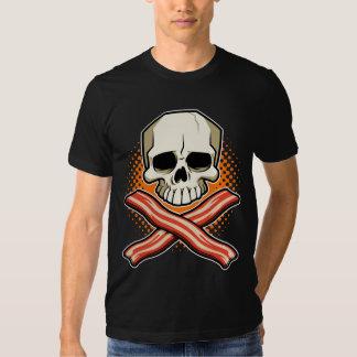 Cráneos y camiseta de American Apparel del Camisas