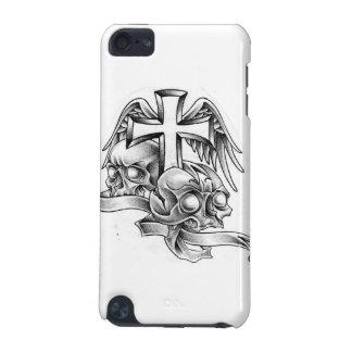Cráneos y cruz funda para iPod touch 5G