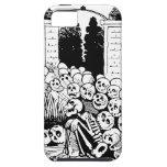 Cráneos y esqueletos de risa iPhone 5 Case-Mate carcasas