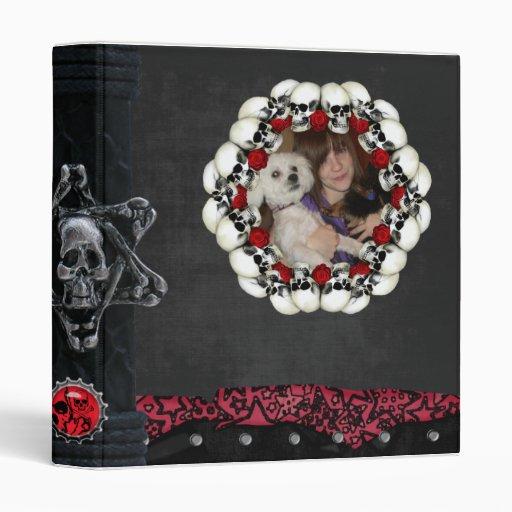 """cráneos y foto góticos de los rosas carpeta 1"""""""