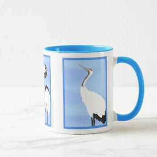 Cranes, 3-Panel - Mug
