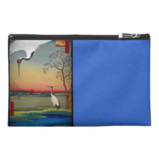Cranes and Blue Water Travel Accessories Bag