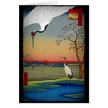 Cranes and Blue Water Cards