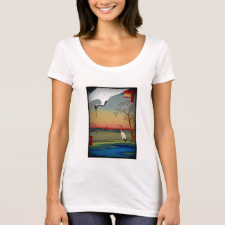 Cranes and Blue Water T-Shirt