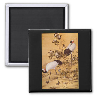 Cranes and Flowers', Lang_The Orient Magnet