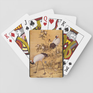 Cranes and Flowers', Lang_The Orient Playing Cards