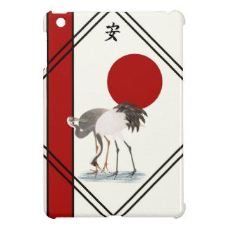 Cranes and Tranquility iPad Mini Case
