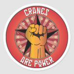 Cranes Are Power Stickers