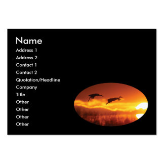 cranes large business cards (Pack of 100)