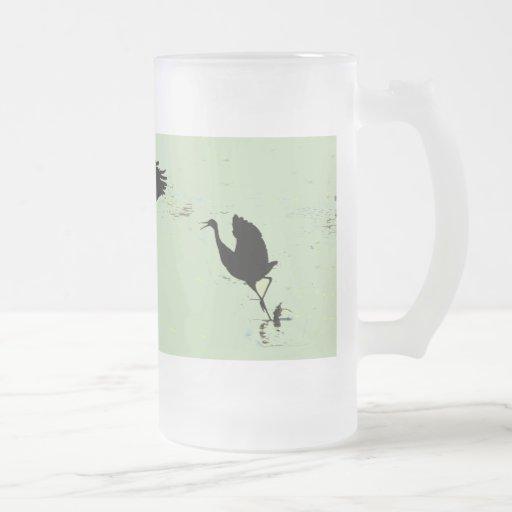Cranes Dancing Mug