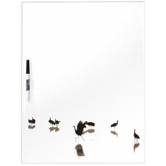 Cranes Dry Erase Board