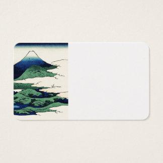 Cranes Fly Toward Mountain Business Card