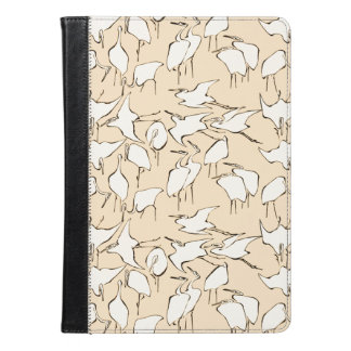 Cranes from Quick Lessons in Simplified Drawing iPad Air Case