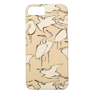 Cranes from Quick Lessons in Simplified Drawing iPhone 7 Case