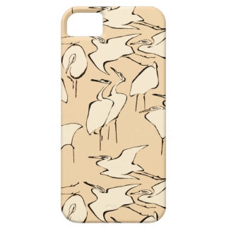 Cranes from Quick Lessons in Simplified Drawing iPhone SE/5/5s Case