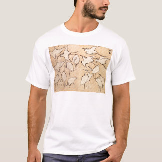 Cranes from Quick Lessons in Simplified Drawing T-Shirt