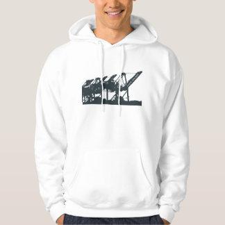 Cranes Hoodie Sweatshirt