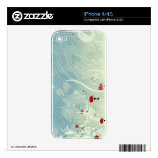 Cranes iPhone 4S Decal