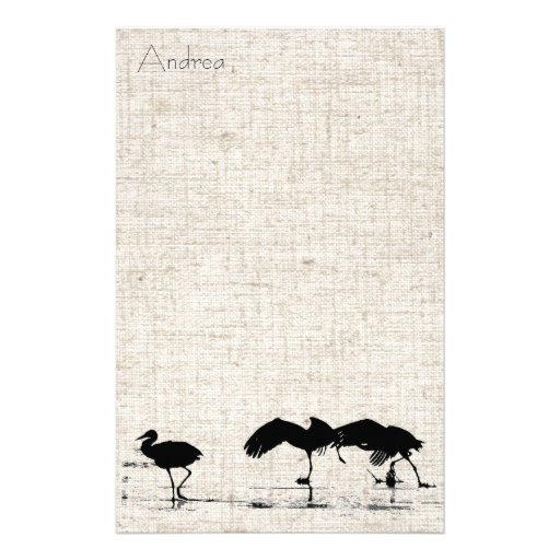 Cranes Linen Stationery