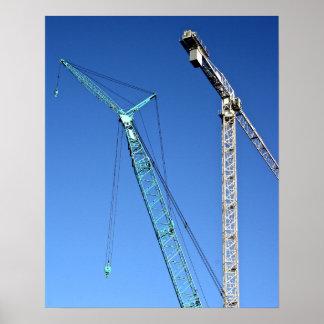 Cranes Poster/Print Poster