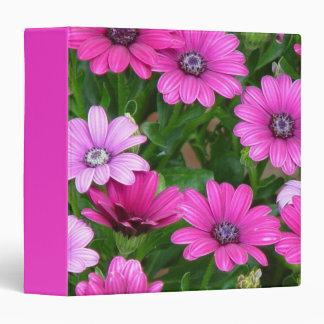Cranesbill Geranium (Pink Flowers) Avery Binder