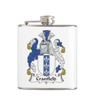 Cranfield Family Crest Flask