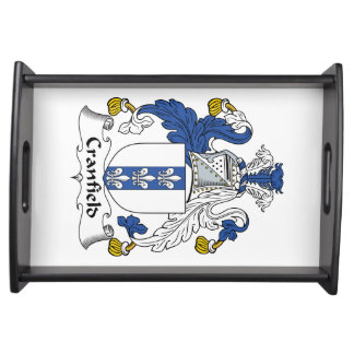 Cranfield Family Crest Food Trays