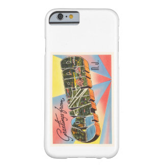 Cranford New Jersey NJ Vintage Travel Postcard- Barely There iPhone 6 Case
