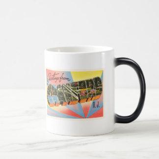 Cranford New Jersey NJ Vintage Travel Postcard- Magic Mug