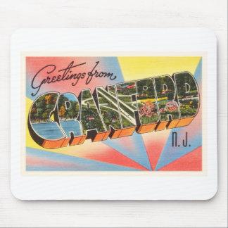 Cranford New Jersey NJ Vintage Travel Postcard- Mouse Pad